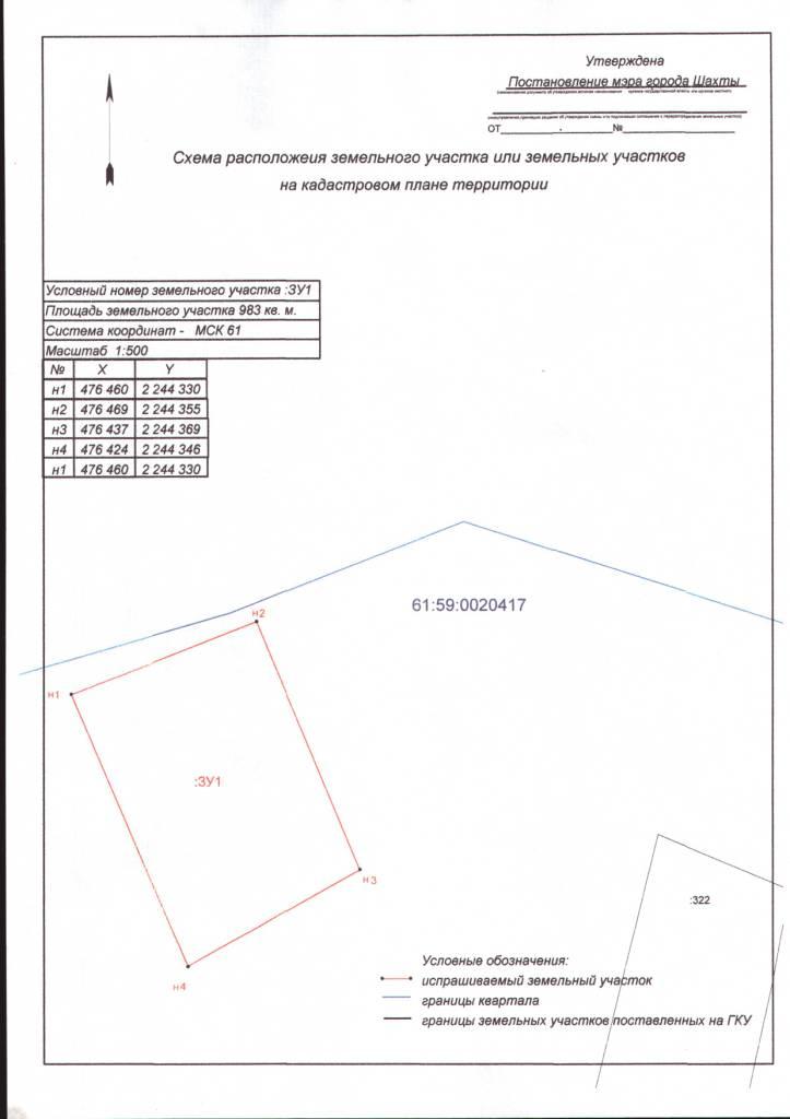 Регламент утверждение схемы расположения земельного участка 2016